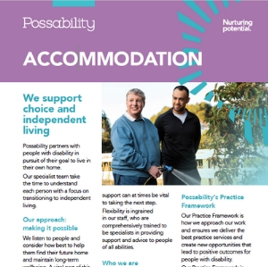 Accommodation services brochure